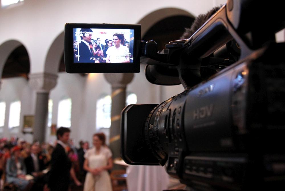 profesjonalny film ze ślubu