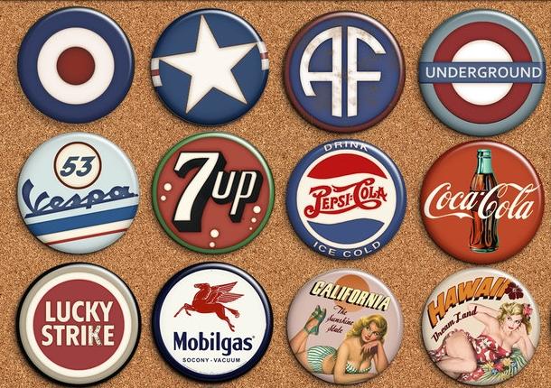 buttony i przypinki dobrym pomysłem na reklamę